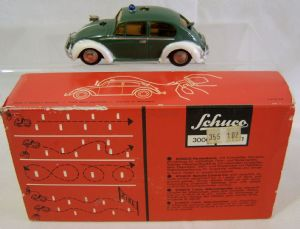 Schuco Telesteering Car 3000 - West German Police VW - Boxed & Complete - SOLD